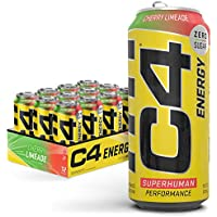 12-Pack C4 Original Cherry Limeade Pre Workout Performance Sugar Free Energy Drink
