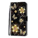 Samsung Galaxy A20 A30 Hülle, Samsung A20 A30 Handyhülle mit Kartenfach Geld Slot Ständer Magnet PU Ledertasche TPU Bumper Wallet Case Flip Tasche Schutzhülle Handytasche für Samsung Galaxy A20 A30