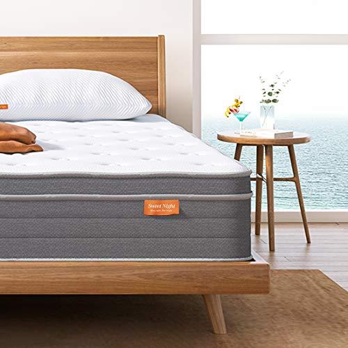 Sweetnight - Materasso in memory foam, 80 x 200 cm