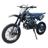 X-PRO 125cc Dirt Bike Pit Bike Adults Dirt Pit Bike 125 Dirt Bike Dirt Pitbike,Blue