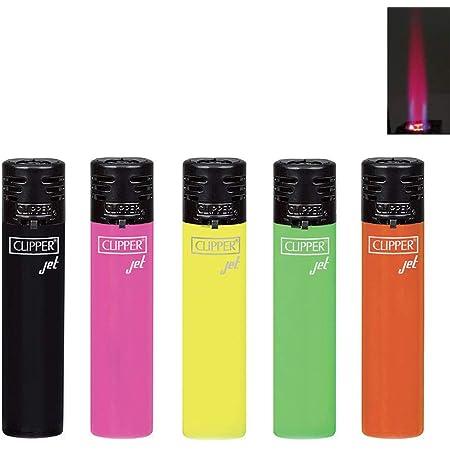 Clipper Jet Shiny 6 Lighters