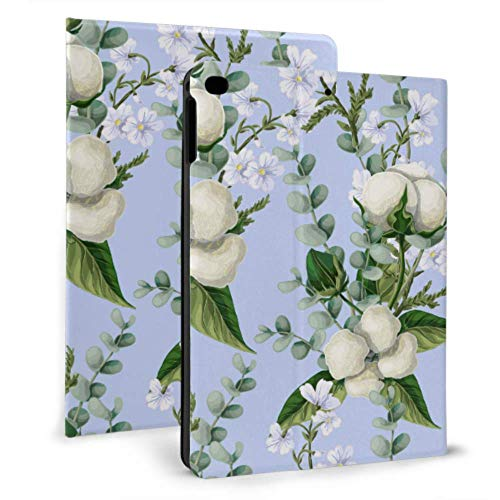 WYYWCY pad Air Cover Pure Cotton Flower Bouquet pad Cover Bag For pad Mini 4/mini 5/2018 6th/2017 5th/air/air 2 With Auto Wake/sleep Magnetic pad Protective Case