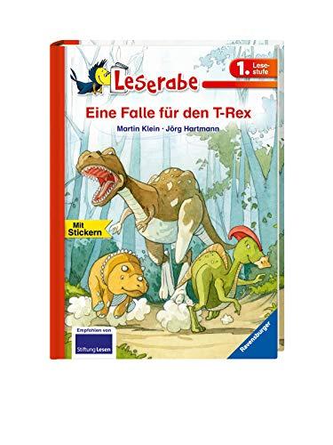 Leserabe - 1. Lesestufe: Eine Falle für den T-Rex (HC - Leserabe - 1. Lesestufe)