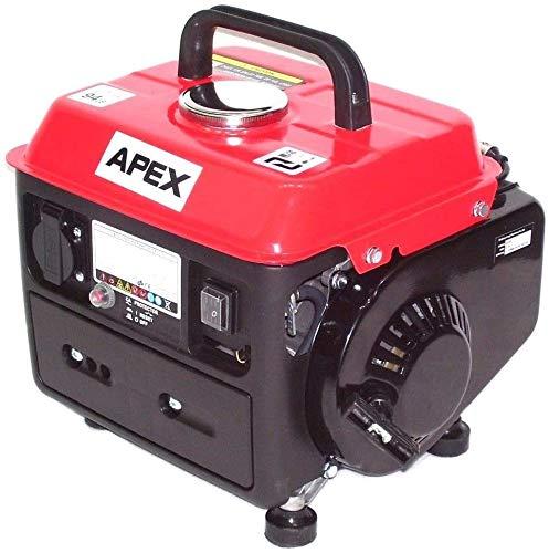 Generador de corriente de gasolina, 950 W, 06260, generador de emergencia, 230 V