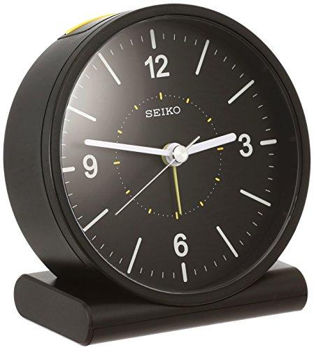 セイコー クロック 目覚まし時計 電波 アナログ 黒 KR328K SEIKO