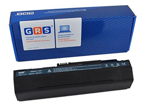 GRS Akku für Acer Aspire one A110-1295, Aspire one ZG5 Serie, ersetzt: UM08A73, UM08A31, 6600mAh/73Wh