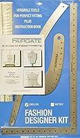 Fairgate ファッションデザイナーズルーラーキット - 部品番号15-102 (インチ) 米国製