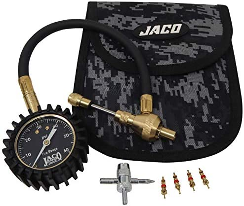 JACO RapidFlow Tire Deflator with Gauge 0 60 PSI Rapid 4x4 Off Road Air Down Kit product image