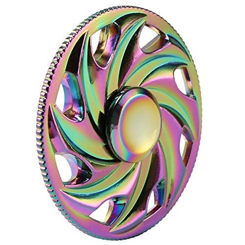Kivors-LED-Light-Fidget-Spinner-Clear-Led-Crystal-Hand-Spinner-Stress-Release-EDC-Toys-with-Wireless-Speakers-for-Children-Adults