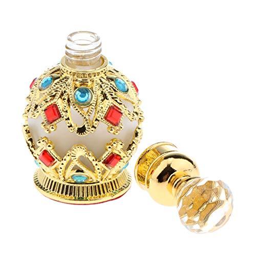 SDENSHI 15ml Bouteille Vaporisateur de Parfum Vide Distributeur D'atomiseur en Verre Pour Huiles Essentielles, Aromathérapie, Parfums