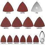 50PCS Oscillating Saw Sanding Kit Sand Pad Multi-Tool <span class='highlight'>Accessories</span> for Bosch Fein Stanley Multimaster Dremel