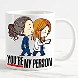 csm Informatica Tazza Mug Personalizzata Grey's Anatomy You Are My Person Caricatura Serie TV