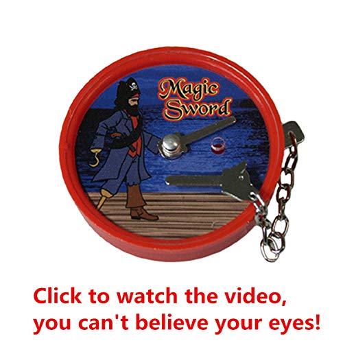 siwetg Magic Pirate Box Secret Box Magic Toys Magic Requisiten Amazing Effect Einfach zu verwenden