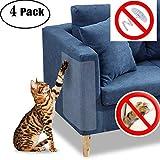 Protezione per mobili Cat Scratch Guard - Quattro guardie per confezione - (18,5 'L x 5,9' W) - La migliore protezione dagli animali Scratching - Ama i tuoi mobili e il tuo gatto!