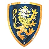 Liontouch 113LT Medieval Noble Knight Foam Toy Shield, Blue | Part of A Kid's Costume Line