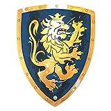 Liontouch 113LT Scudo Medievale del Nobile Cavaliere Giocattolo in Schiuma, Blu | Linea di Costumi
