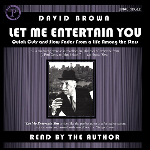 Let Me Entertain You audiobook cover art