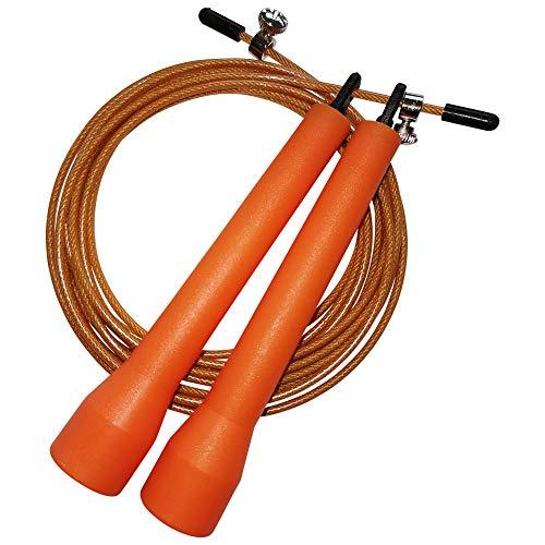 Maxxus Fitness Springseil Speed PRO - Jump Rope mit verstellbarem Stahlseil, Ideal für Ausdauertraining, Boxen, Warm-Up