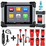 Autel MaxiSys MS908S Pro Wireless Automotive Diagnostic Scanner with J2534 ECU Programming and Coding, Bi-Directional Control, 25 Services Functions, Equivalent As MK908P, MV108 Add-On