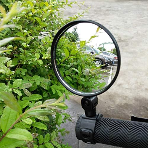SHIJING Universele Fiets Fietsen Spiegel Stuur Brede Hoek Achteraanzicht Achteraanzicht Bike Accessoires