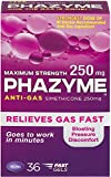 Phazyme Ultra Strength Anti-Gas & Softgels (36 Count (Pack of 3), Maximum Strength 250 mg)