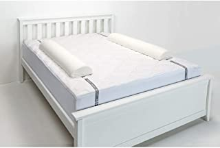 Regalo Double Sided Extra Long Toddler Bed Rail Bumper Foam Safety Guard for Bed, White, Double Sided
