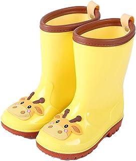 Kids Waterproof Boots Childrens Boys Girls Lovly Cartoon