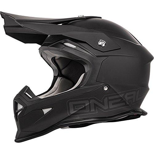 O'neal 2 Serie Flat Motocross Enduro MTB Casco schwarz 2015 - Negro...