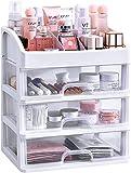 MUY Organizador de Maquillaje con cajones, tocador, encimera, Almacenamiento...