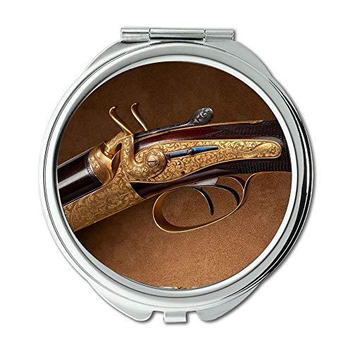 Yanteng Spiegel, Reise-Spiegel, Gewehrwecker, runder Spiegel, spätestes Gewehr, Taschenspiegel, beweglicher Spiegel