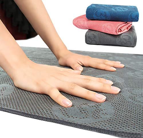MEESU Toalla de Yoga Caliente Antideslizante, Toalla de Microfibra Suave...