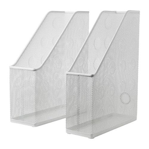Ikea Dokument-Zeitschriftensammler 2er Set weiß 504.026.98