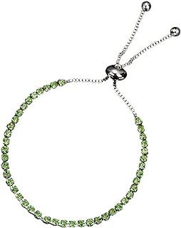 Koolsants Women Bracelet, Fashion Sterling Diamond-Cut Adjustable Bolo Bead Bracelet for Women, Handmade Italian Beaded Ball Chain Bracelet