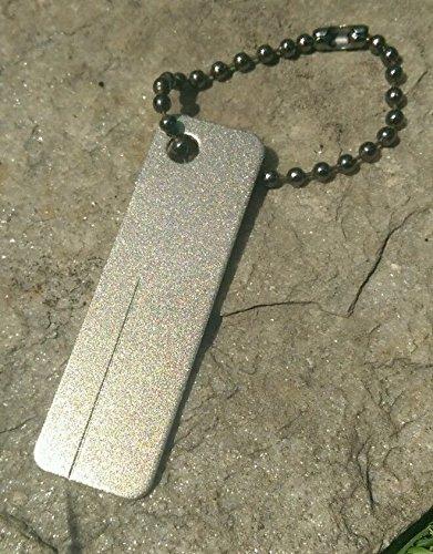 Mini EDC Diamant Aiguiseur pour couteau & survie Bushcraft