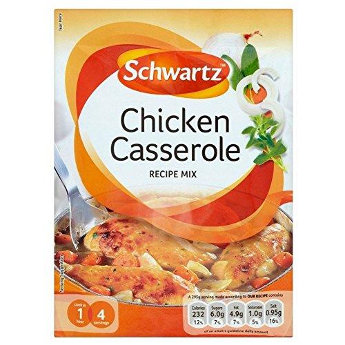 Schwartz Huhn-Kasserolle-Rezept-Mix (36 g) - Packung mit 2