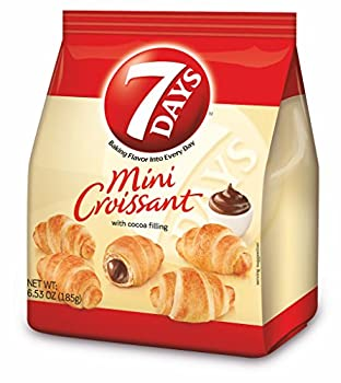 7Days Mini Croissant Chocolate Filling Single Bag by 7 Days