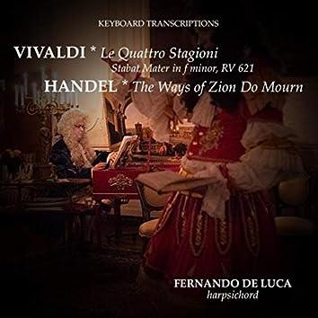 Keyboard Transcriptions. Vivaldi & Handel