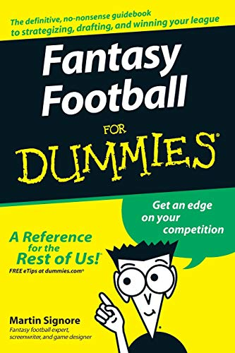 Fantasy Football for Dummies (American Football)