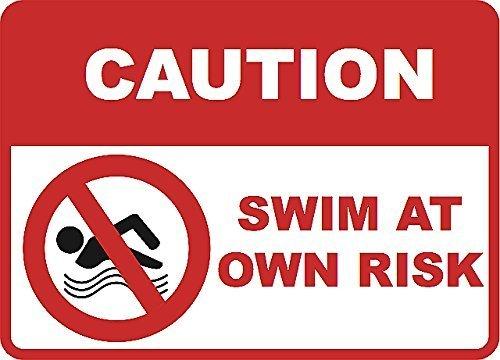 "Warnschild Aufschrift ""Caution"