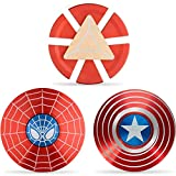 Superhero Fidget Spinners Metal, Fidget Spinner...