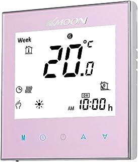 Termostato digital,Baugger- Termostato de calefacción por suelo radiante para sistema de calefacción eléctrica Sensor de p...