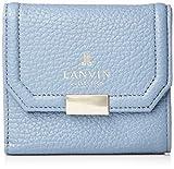 [ランバン コレクション] 三つ折り財布 クゥ ブルーグレー