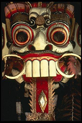 Bali 202034 Balinese Masker A4 Photo Poster Print 10x8