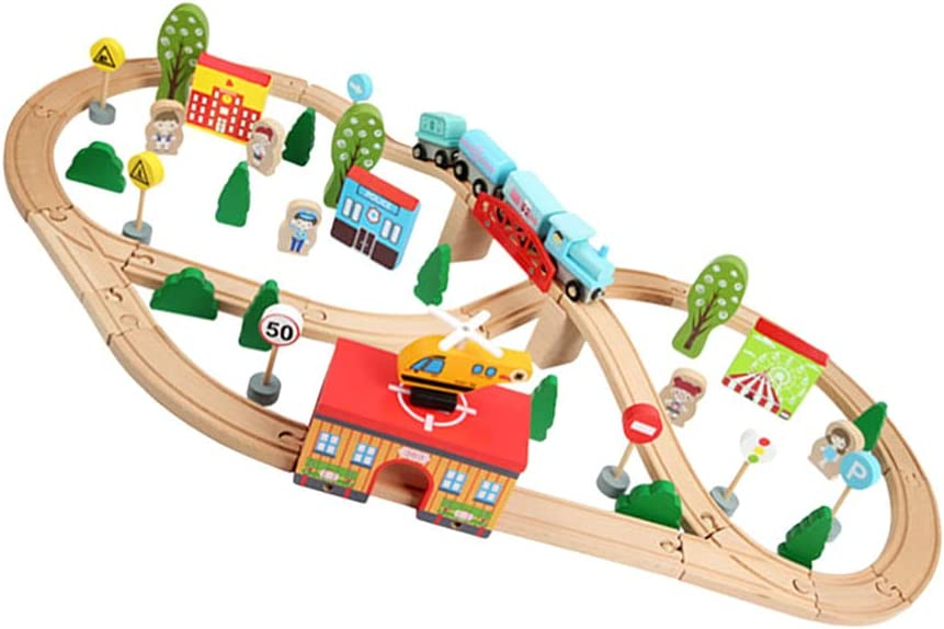 balacoo 1 Set Wooden Train Toy Puzzle Sales results No. Building Block Ranking TOP11 Education A