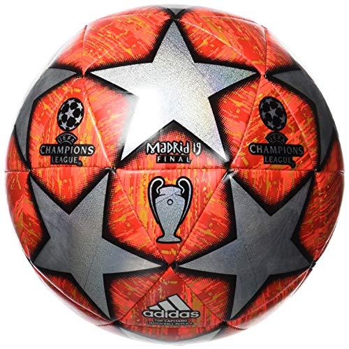 adidas Finale Top Replique Soccer Ball Multicolor/Active Red/Scarlet/Solar Red Bottom: Bright Orange/Solar Gold/Black, 3