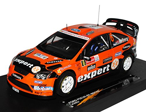 Sun Star Ford Focus RS WRC08 2010 Rally Mexiko Solberg Minor Orange 1/18 Modell Auto