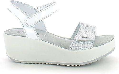 IGI&CO Sandales chaussures femmes avec coin 78210 00 00  prix bas tous les jours