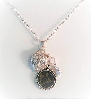 louis vuitton monogram charms necklace