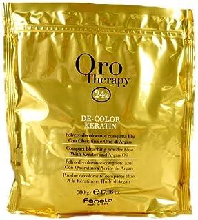 Decolorante en polvo Oro Therapy De-Color Keratin de Fanola