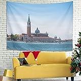 Knowikonwn San Giorgio Maggiore Island In Venecia Italia - Tapiz de pared...